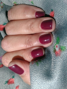 opi miami beet gel color